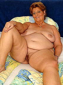 lusty grandmas Big lady