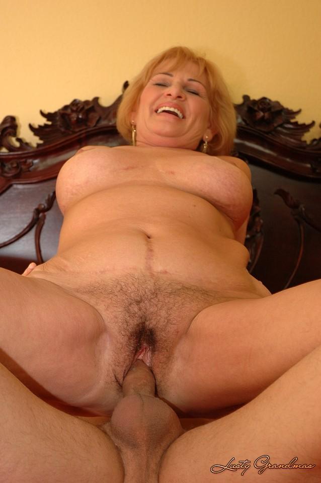 Hot blonde milf striptease