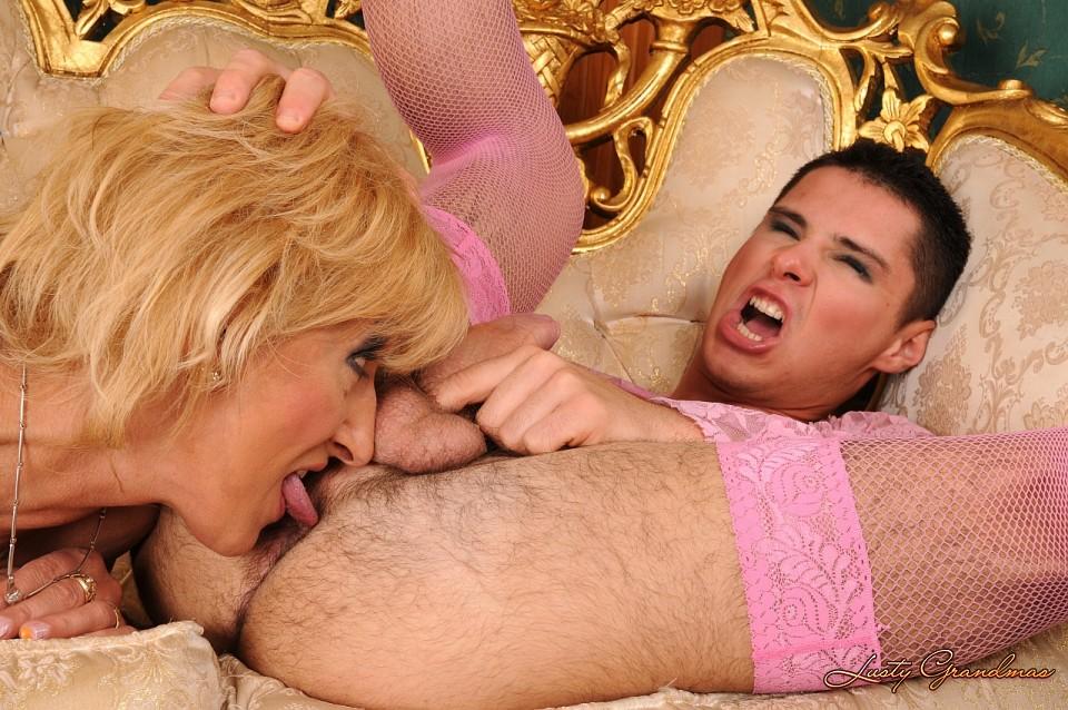 Transen Bruste Schwarz Massage