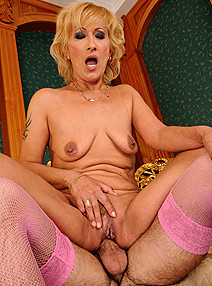 Lusty Grandmas Yda Crossdresser's delight img